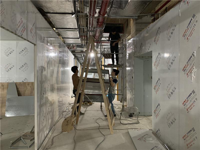 医院净化玻镁彩钢板